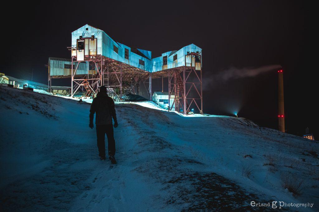 Longeayrbyen, Svalbard.
